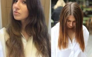 Кератиновое выпрямление волос: фото и видео инструкция, отзывы