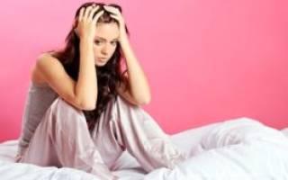 Бессонница у женщин: причины и лечение