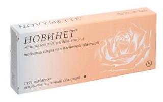 Как работают противозачаточные таблетки Новинет и правила приема препарата