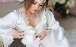 Как выбрать свадебный пеньюар для невесты в 2019 году