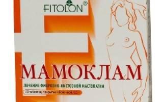 Мамоклам: инструкция по применению