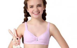 Рост грудных желез и груди у девочек