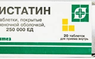 Лечение молочницы Нистатином: подробная инструкция