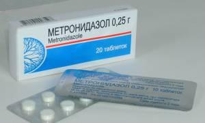 Метронидазол при цистите, как принимать