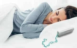 Можно ли спать с тампоном всю ночь