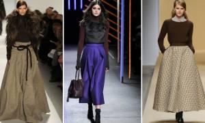 Как выбрать теплую юбку на зиму?